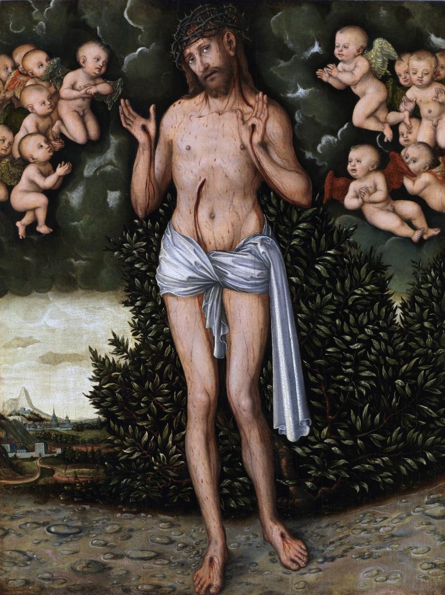 Лукас Кранах Старший. Христос-страстотерпец