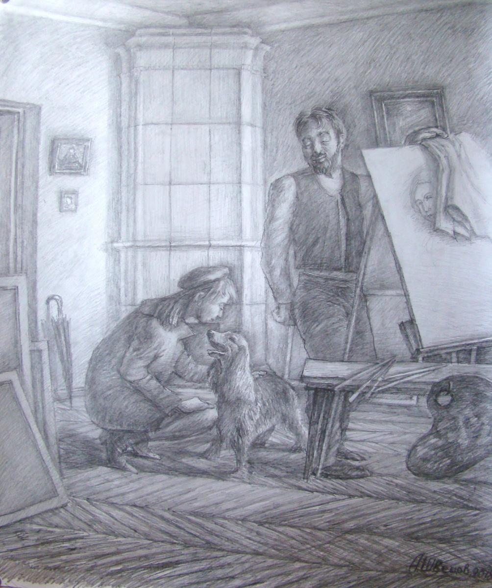 Alexander Shvetsov. Dog douglas