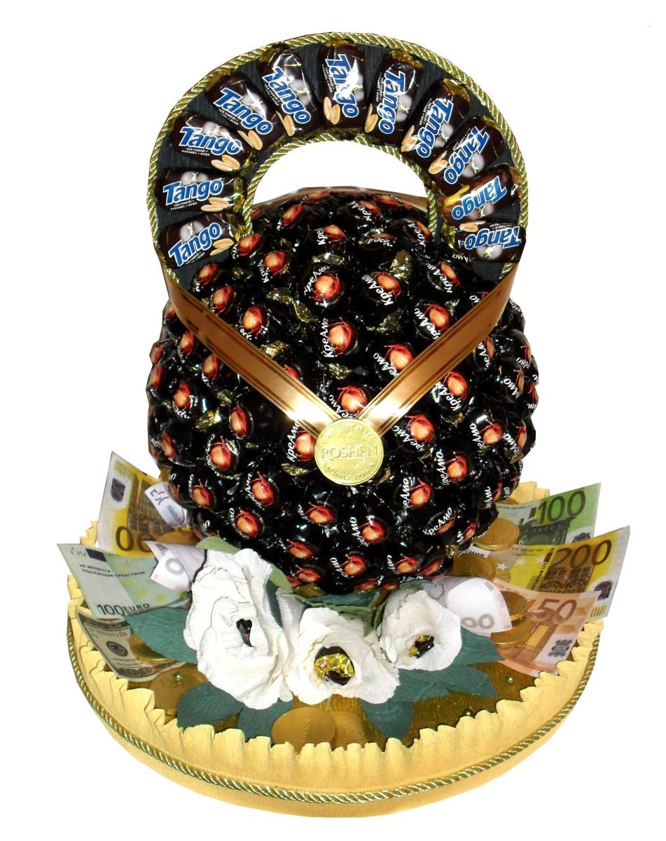 Медаль из конфет своими руками мастер класс