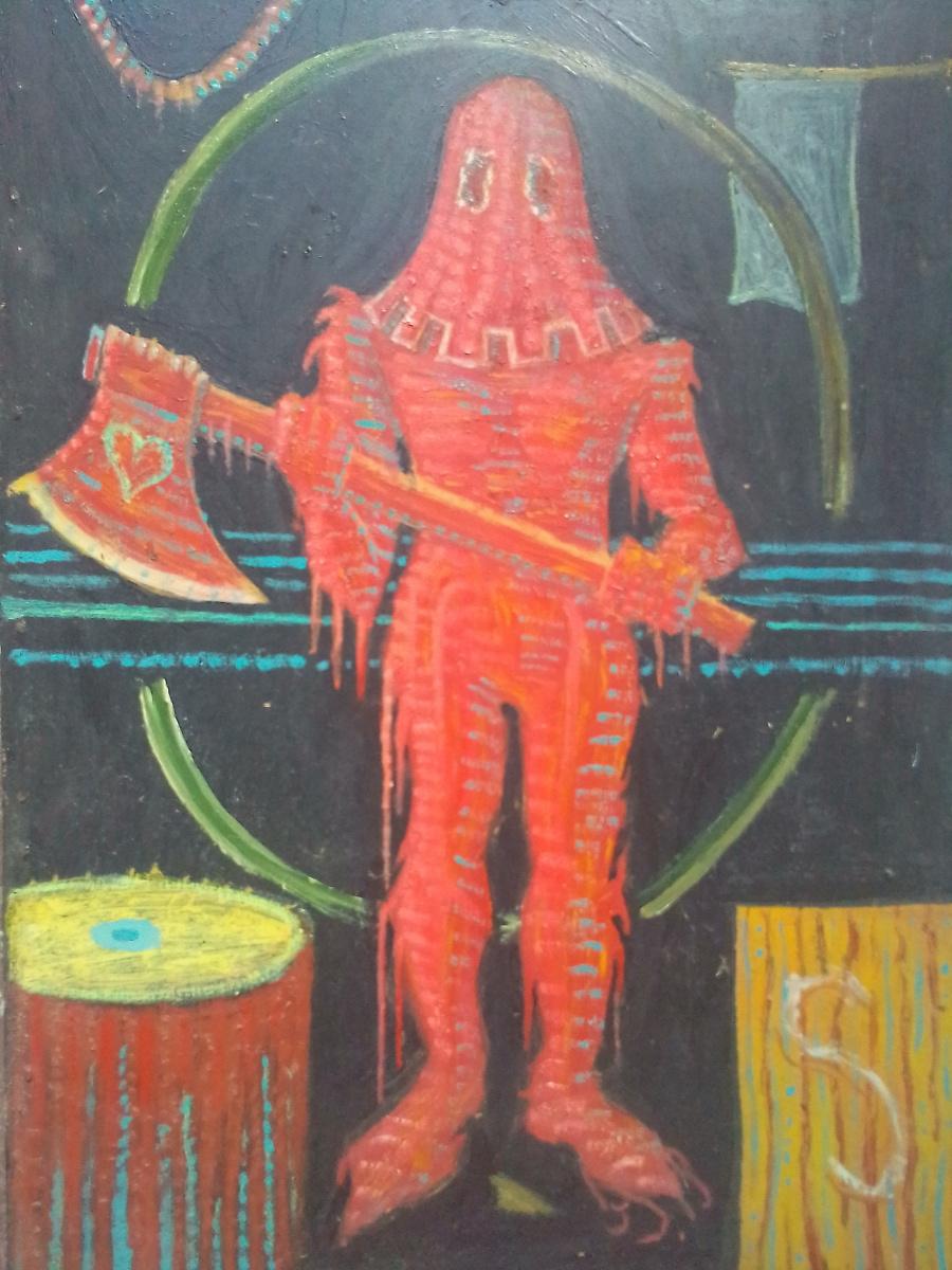 Вячеслав Коренев. Палач. Правая часть диптиха.