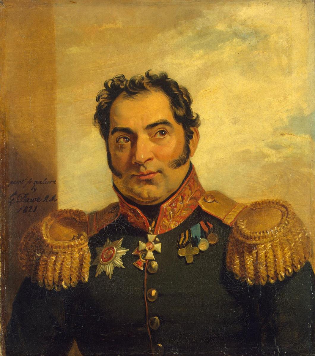 Джордж Доу. Портрет Николая Васильевича Вуича
