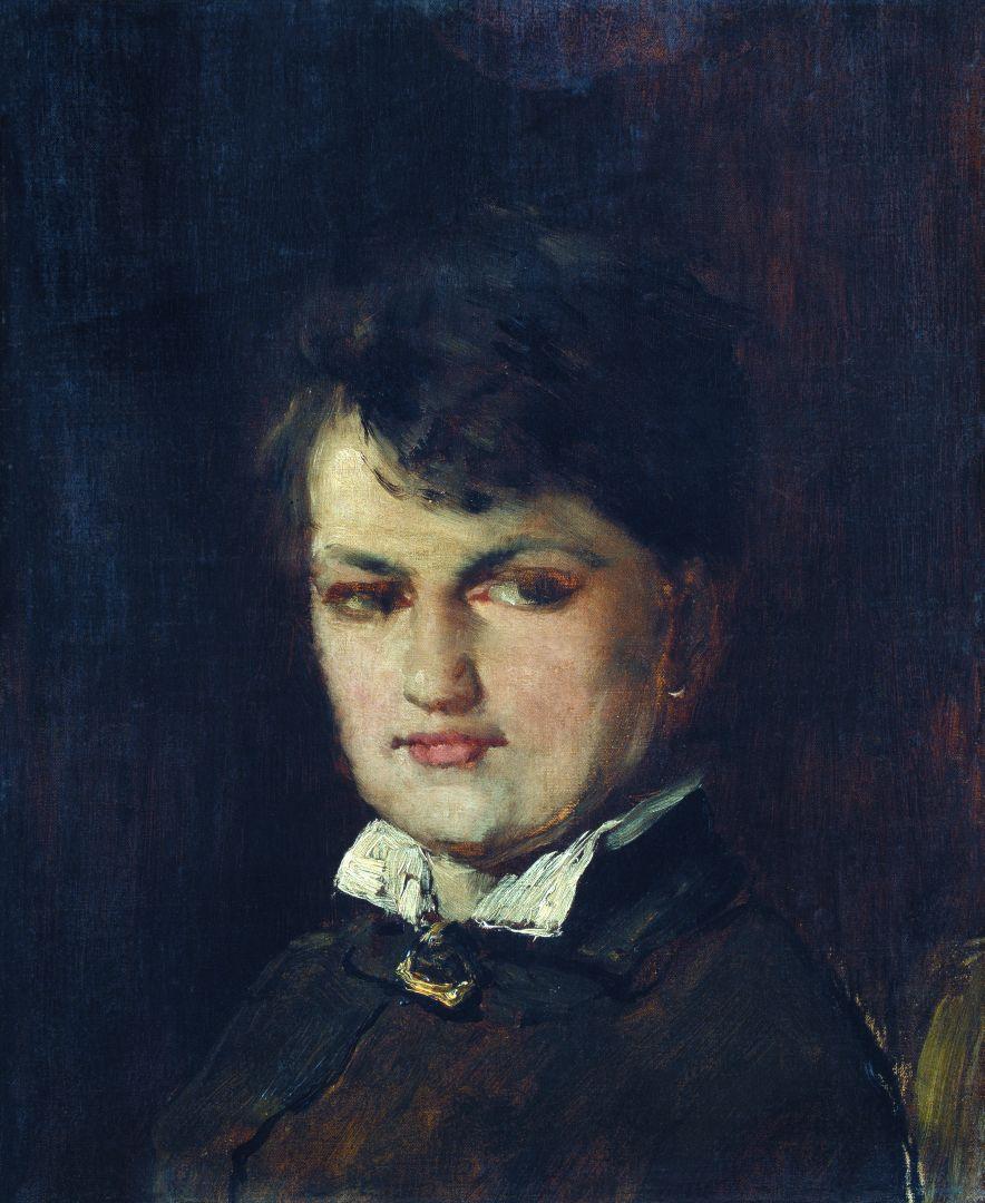Михай Либ Мункачи. Портрет баронессы де Марш