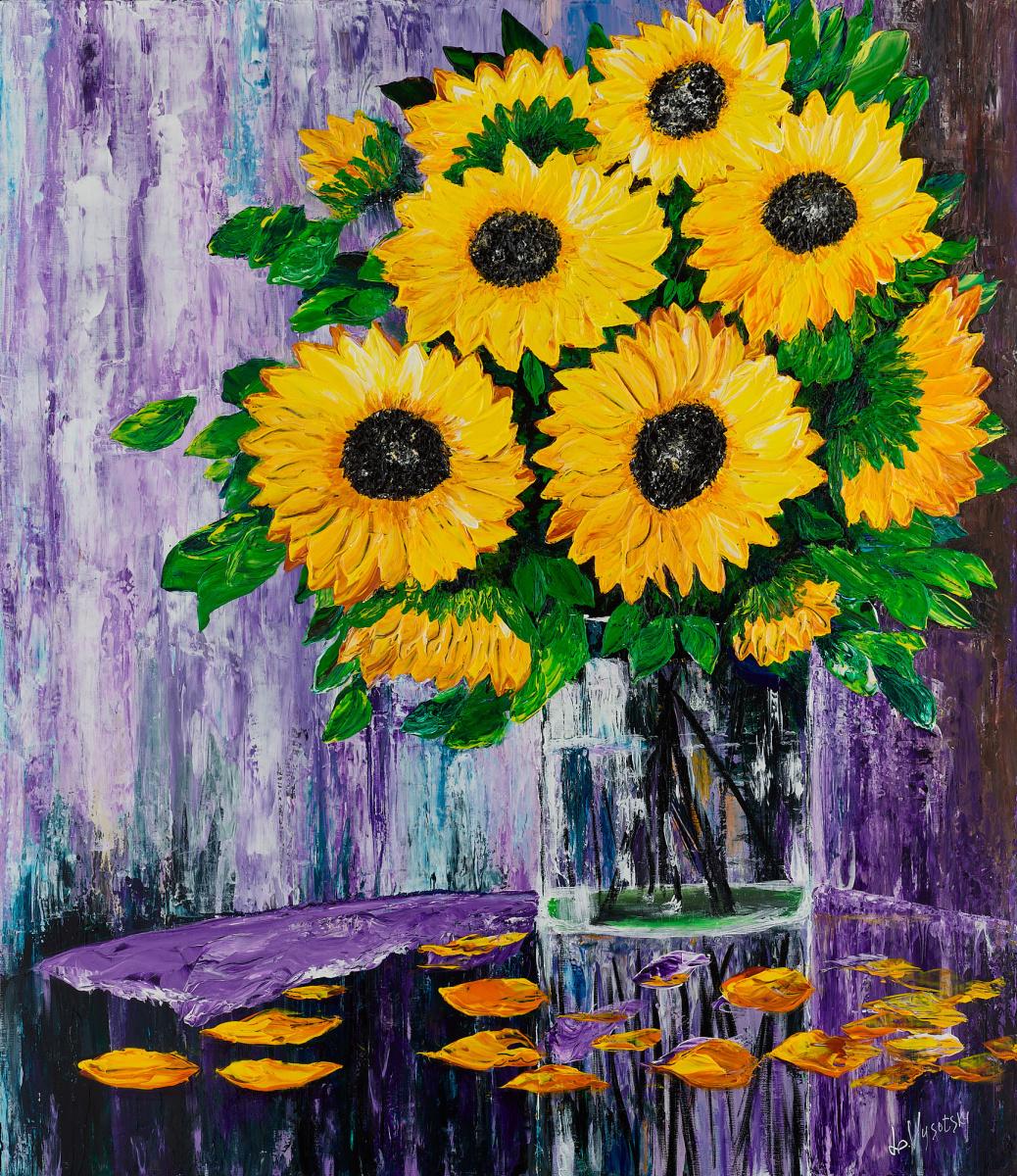 Leda Vysotsky. Sunflowers