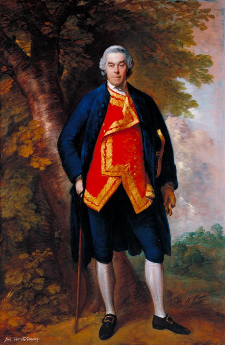 Thomas Gainsborough. John Needham, 10th Viscount Kilmory