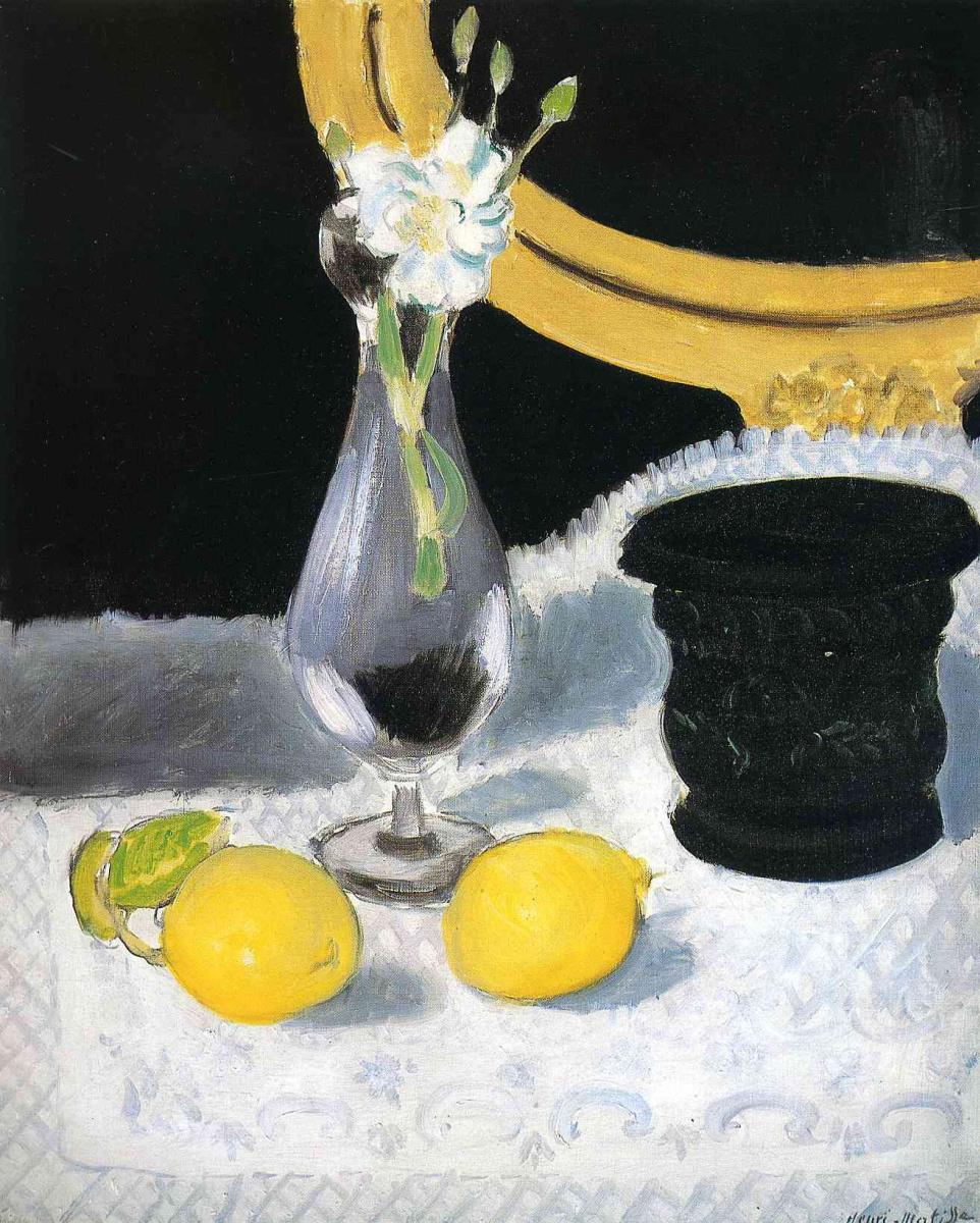 Анри Матисс. Натюрморт с лимонами