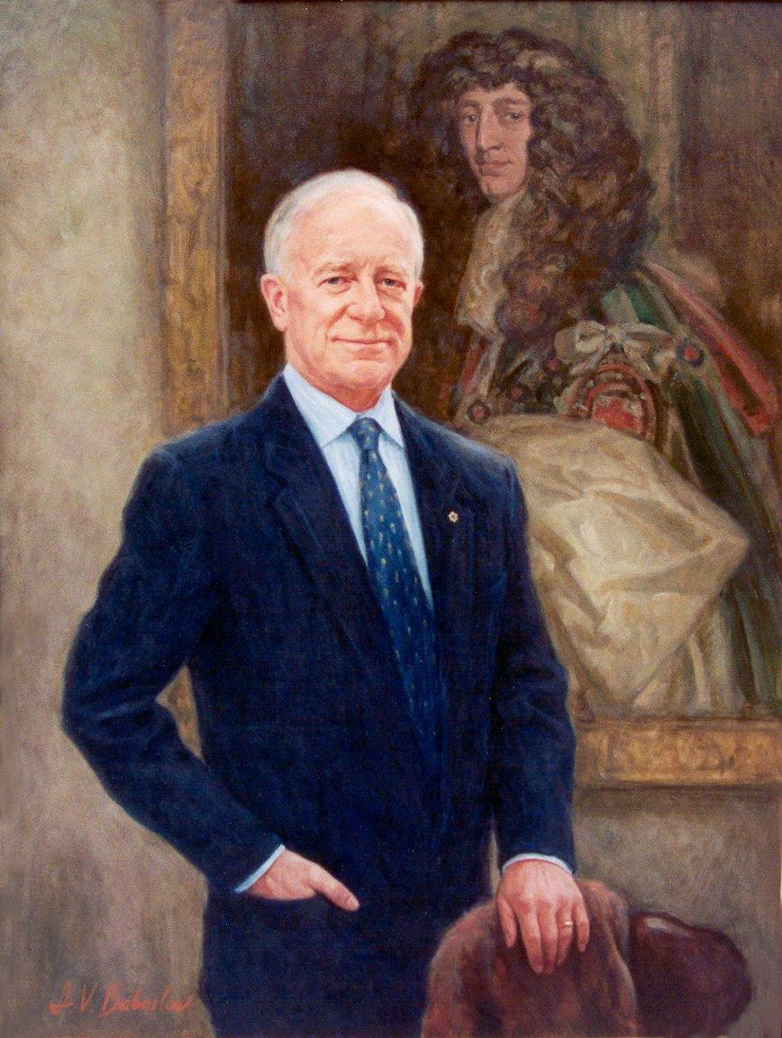 Игорь Валерьевич Бабайлов. Портрет губернатора Фортье