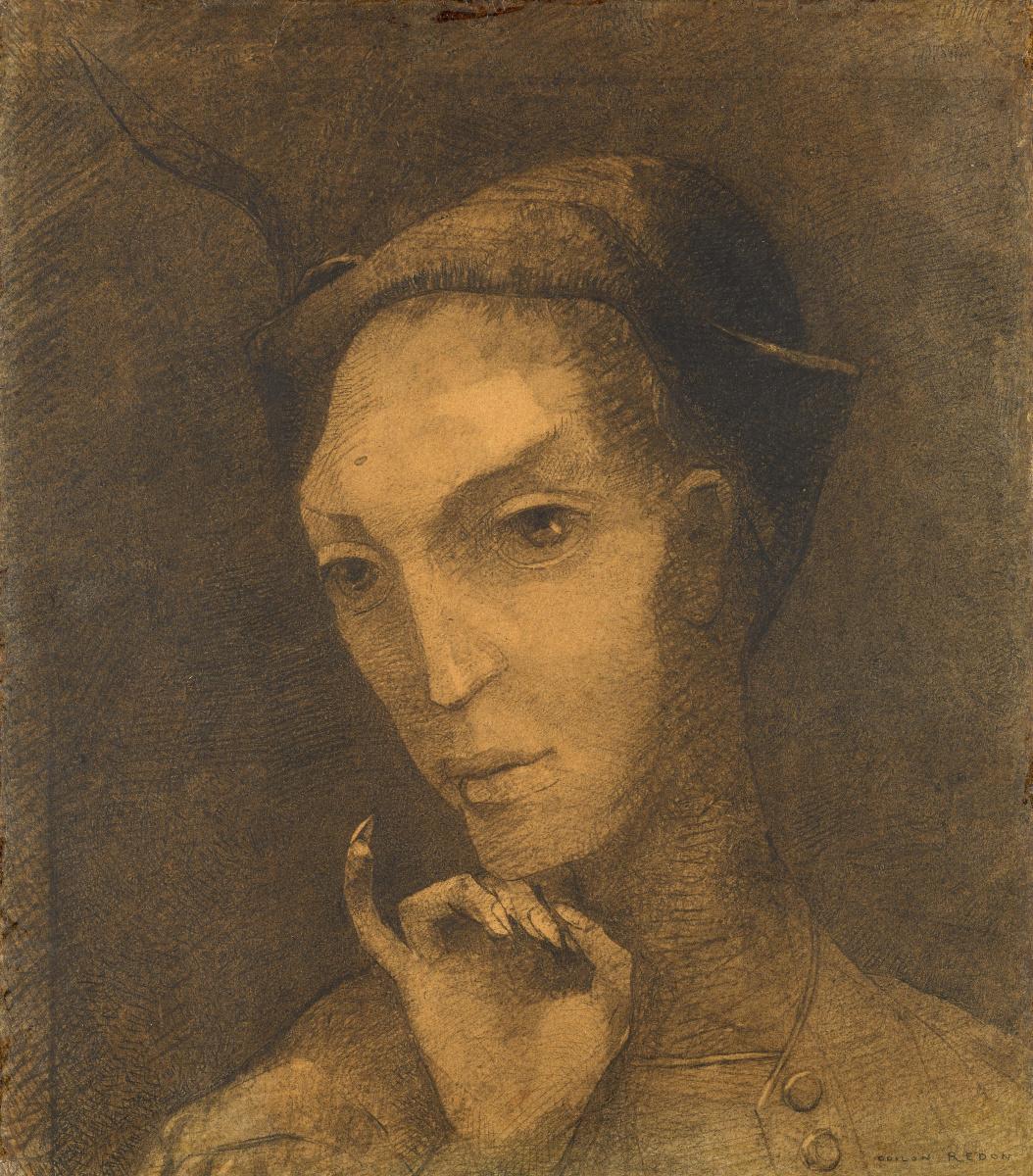 Odilon Redon. Mephistopheles