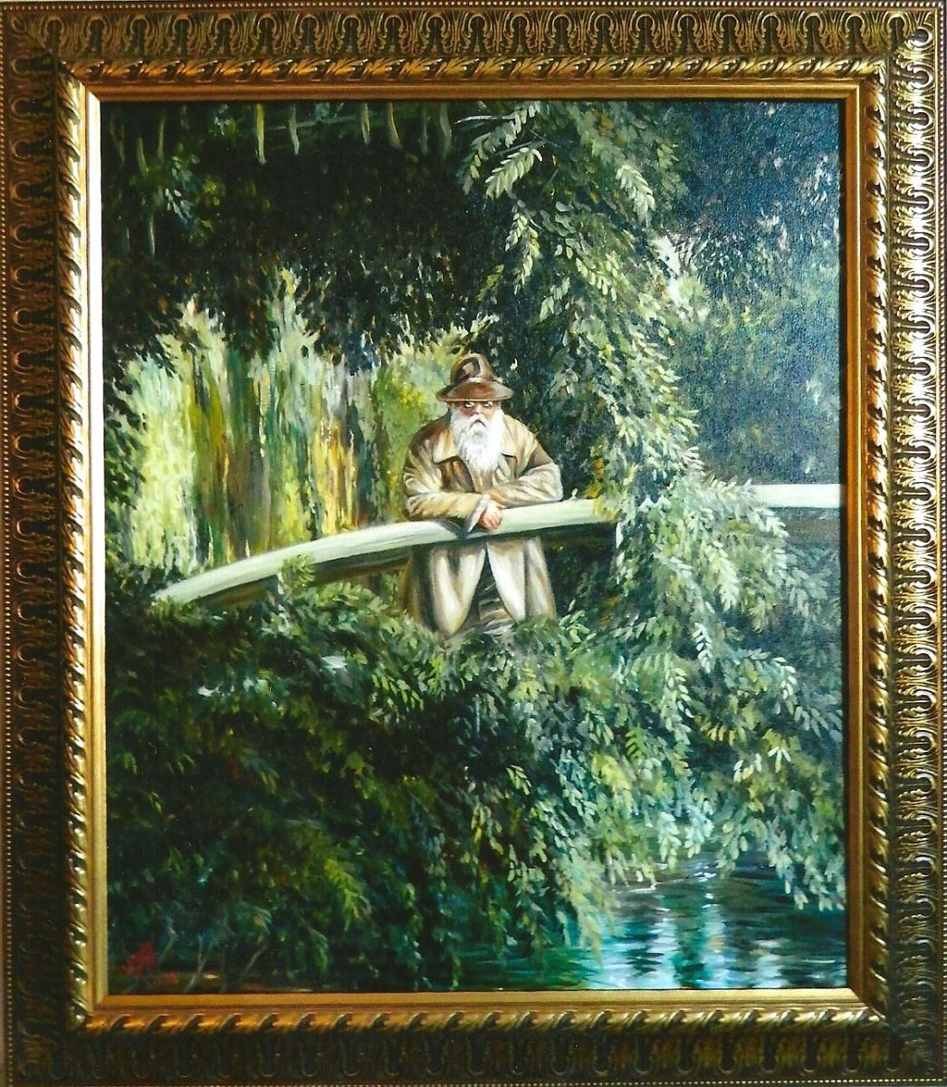 Маргарита Анатольевна Чакова. Claude Monet is not a Japanese bridge