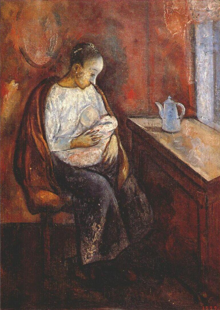 Николай Владимирович Синезубов. Мать и ребенок