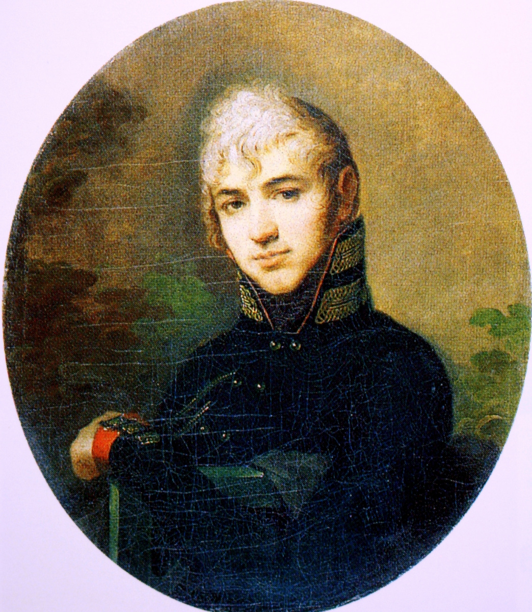 Alexey Gavrilovich Venetsianov. Portrait of Aleksandr Ilyich Bibikov