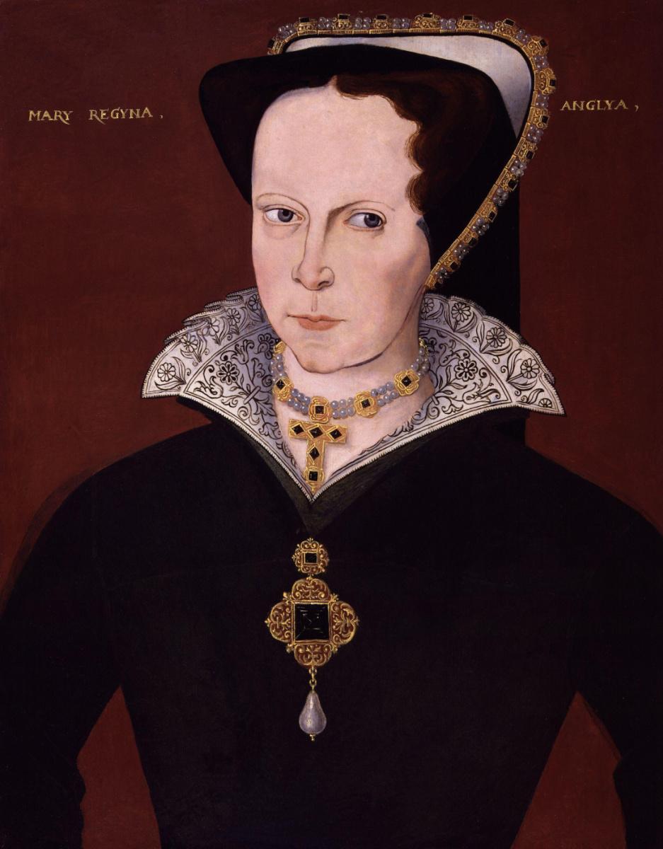 Неизвестный  художник. Мария I Тюдор