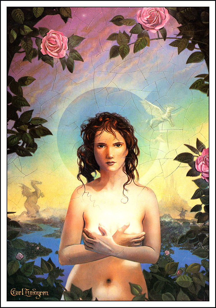 Карл Лундгрен. Розовые розы
