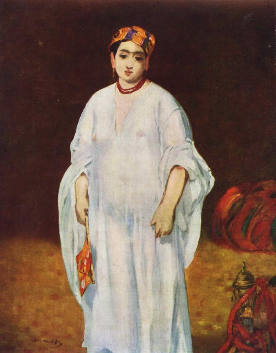Эдуар Мане. Жена султана