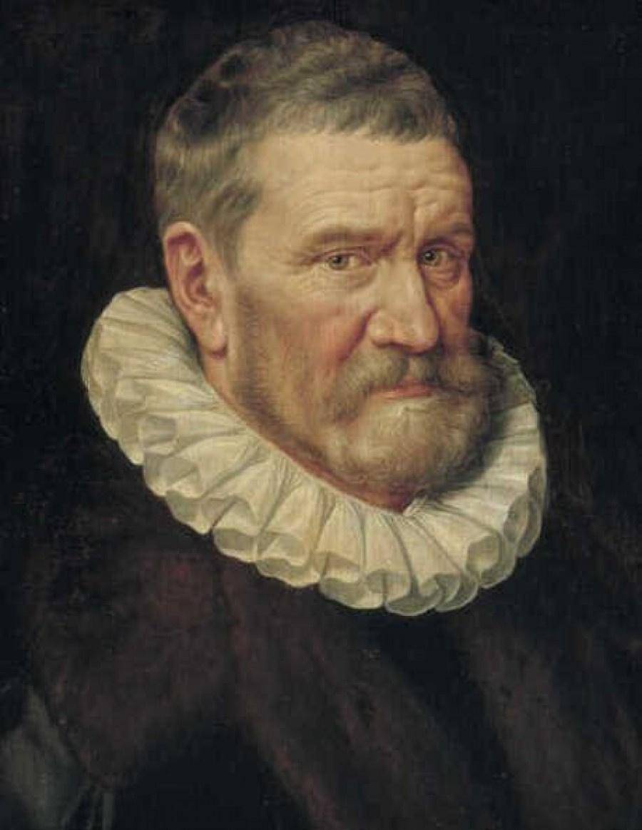 Portrait of 65-year-old man