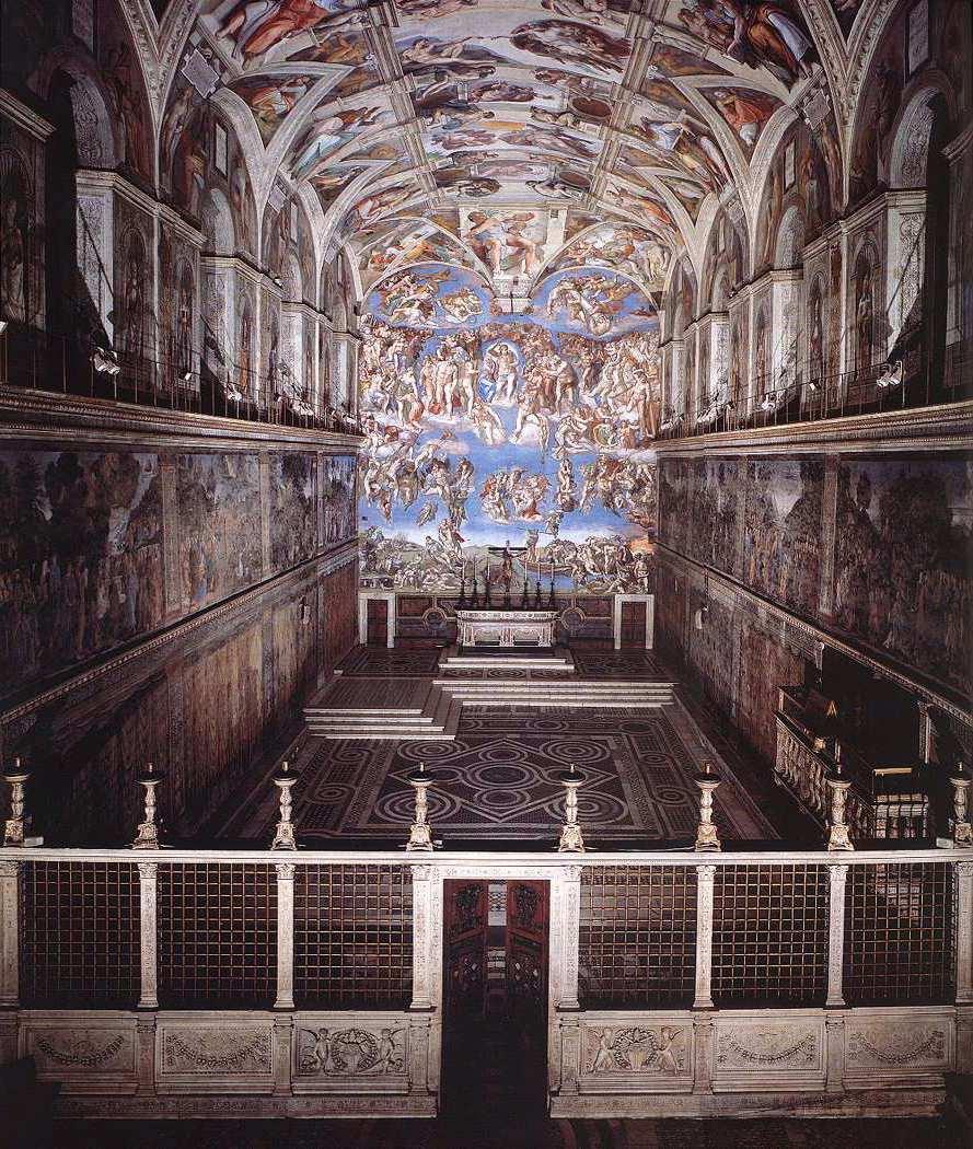 Микеланджело Буонарроти. Роспись