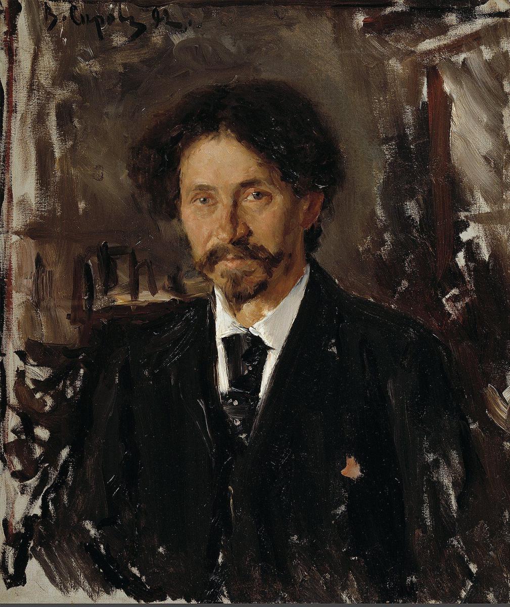 Валентин Александрович Серов. Портрет художника И. Е. Репина