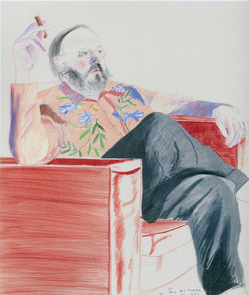 Дэвид Хокни. Портрет 25
