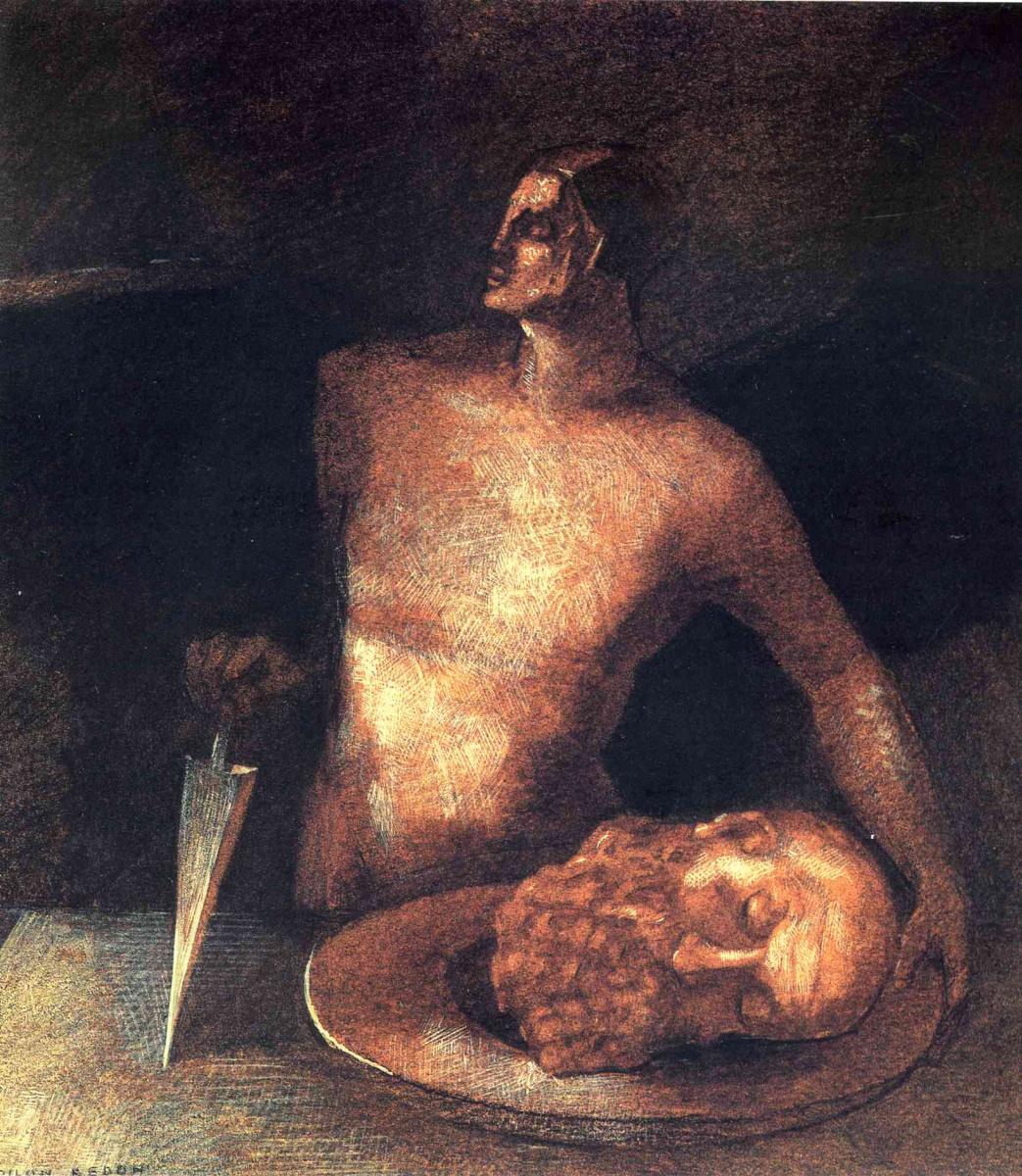 Одилон Редон. Голова Иоанна Крестителя