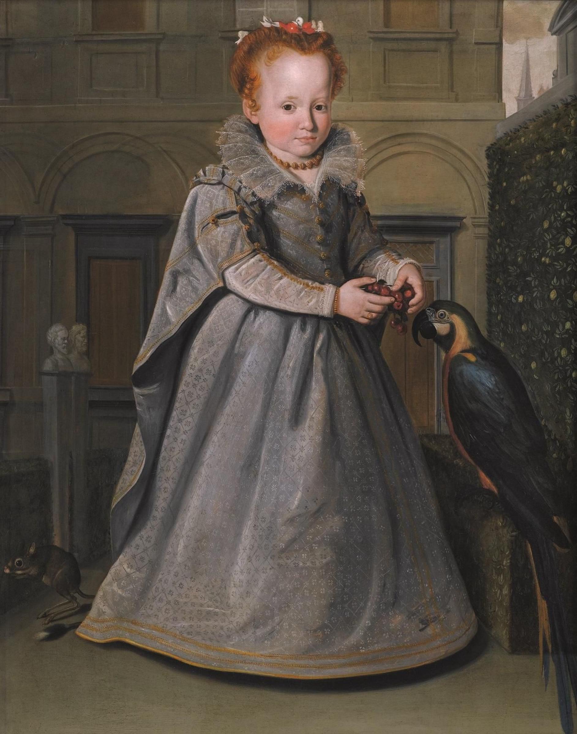 Санти ди Тито. Портрет Лукреции (Эмилии), дочери Никколо ди Синибальдо Гадди
