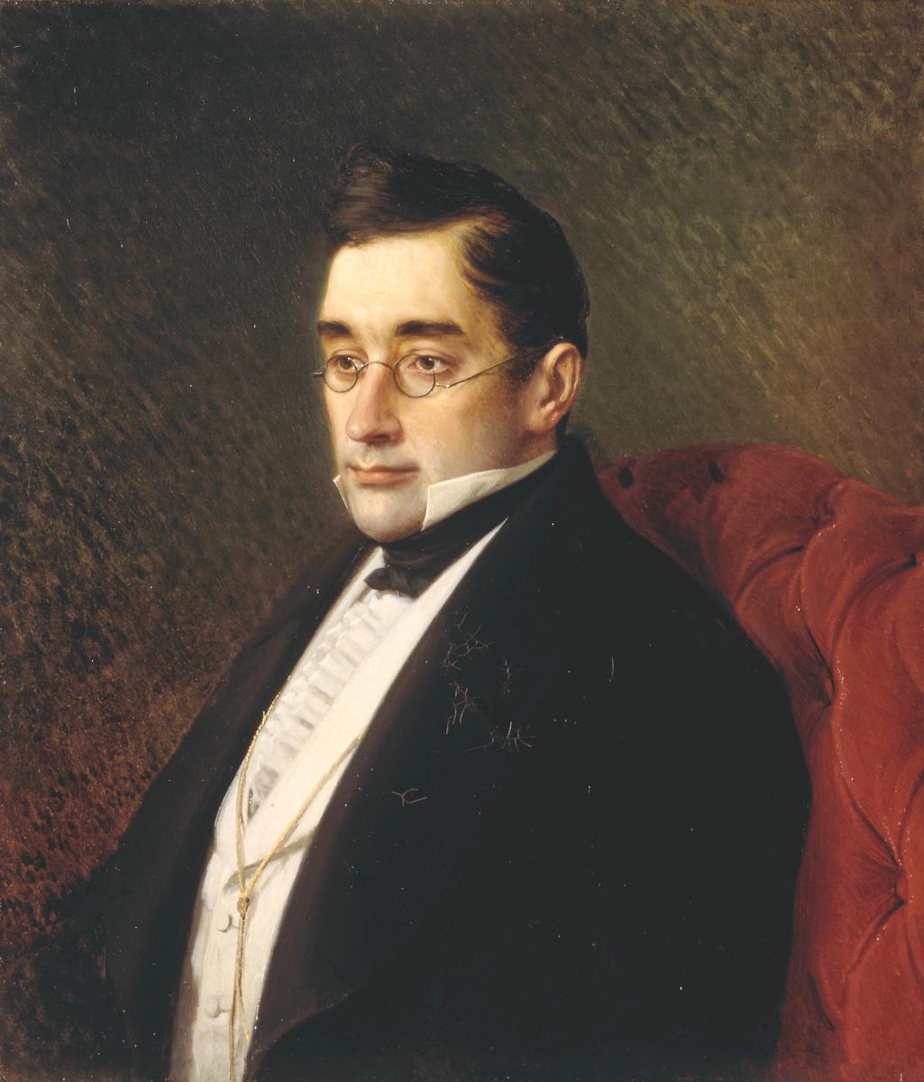 Ivan Nikolayevich Kramskoy. Portrait of AS Griboedov