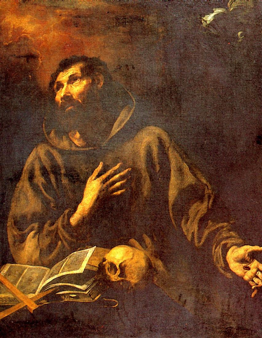 Луис Тристан де Эскамилья. Видение Святого Франциска Ассизского