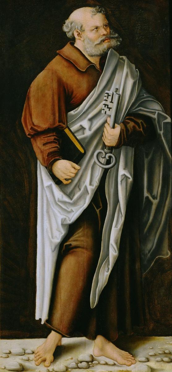 Лукас Кранах Старший. Святой Петр