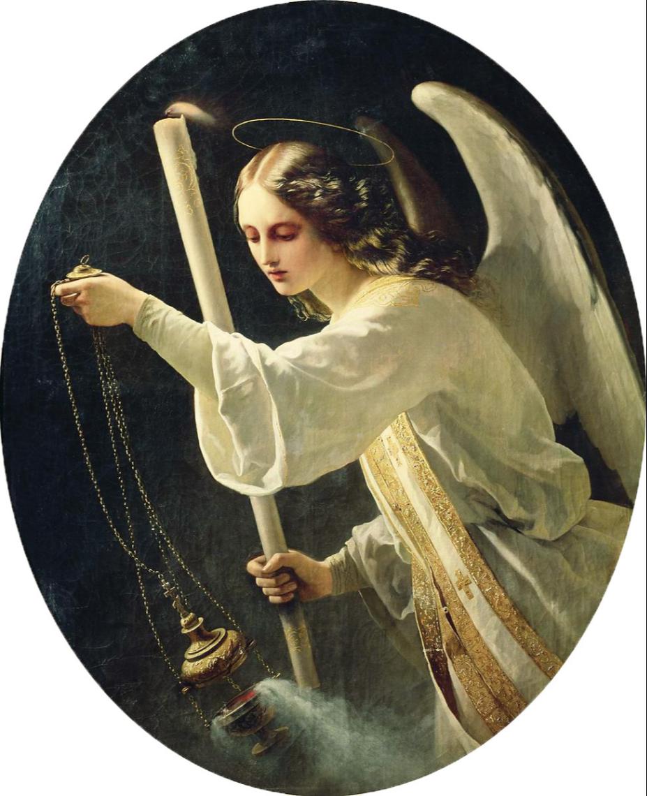 Timofey Andreevich Neff. Angel. Museum of Fine Arts. Shalvy Amiranashvili, Tbilisi, Georgia