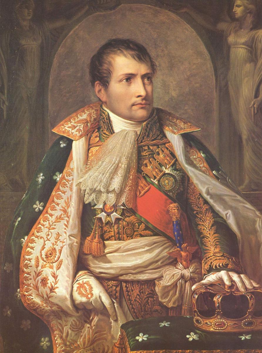 Андреа Аппиани. Портрет Наполеона