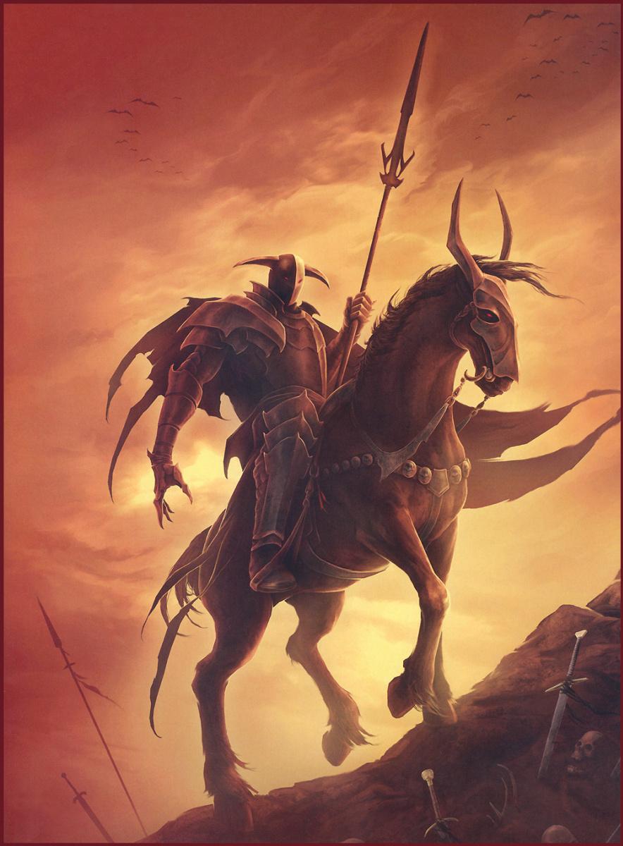 Джейсон Энгл. Темный рыцарь