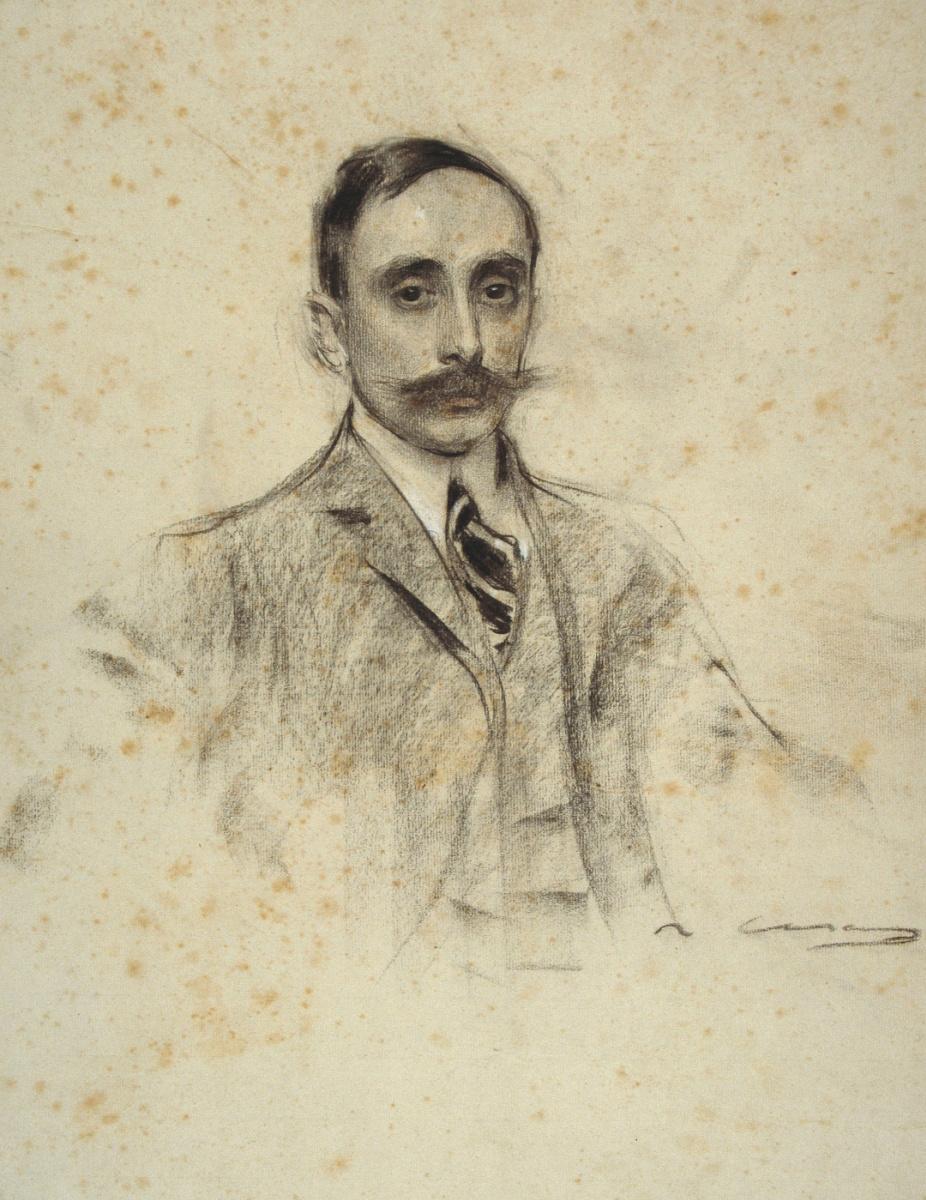 Рамон Касас Карбо. Портрет Хуана Вентозы