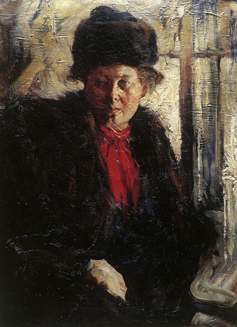 Николай Иванович Фешин. Женский портрет
