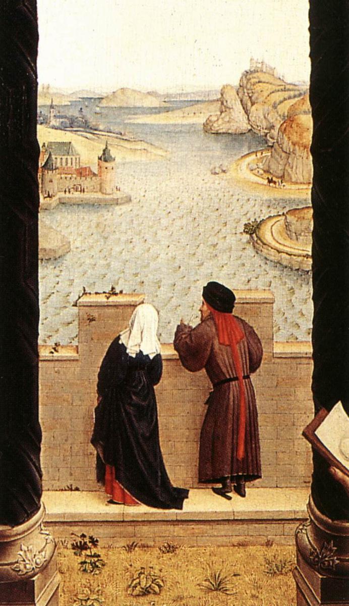 Рогир ван дер Вейден. Святой Лука