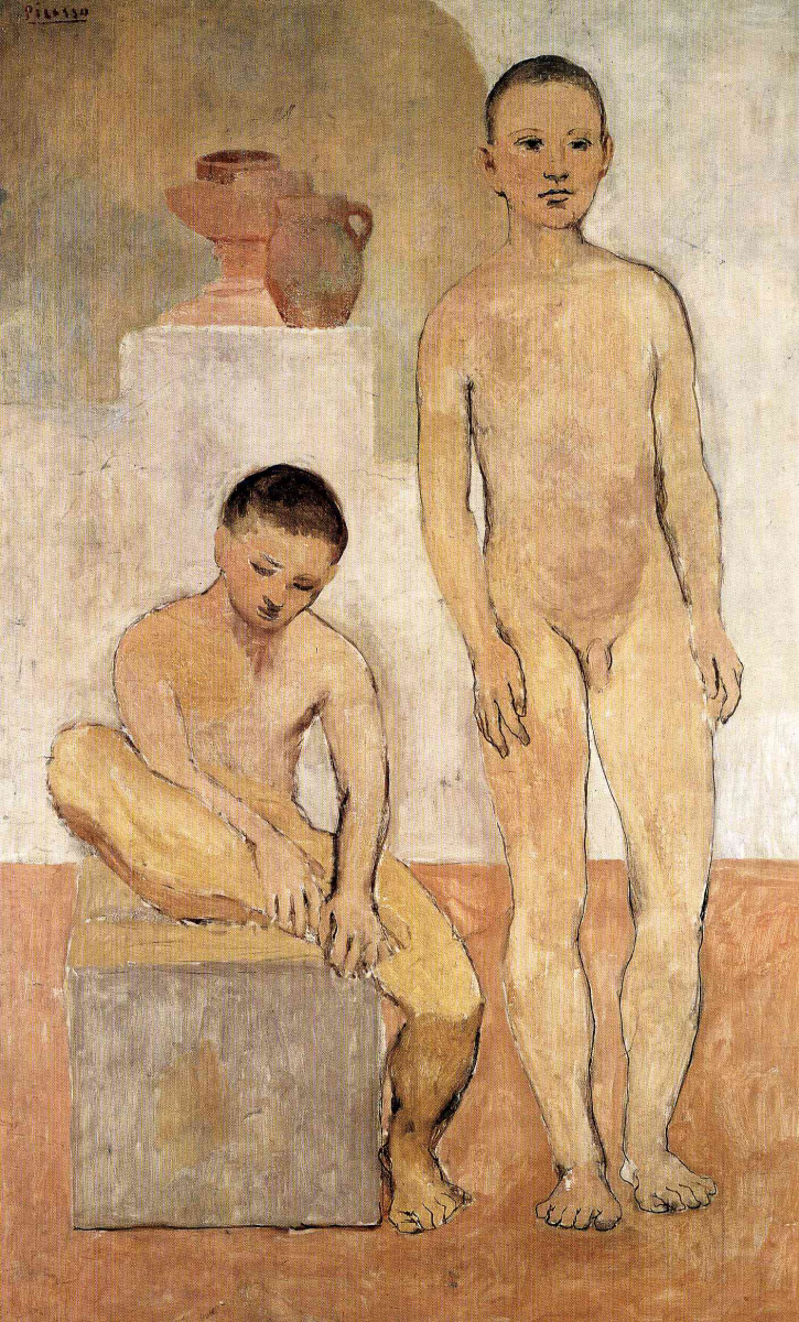 Пабло Пикассо. Голые молодые люди