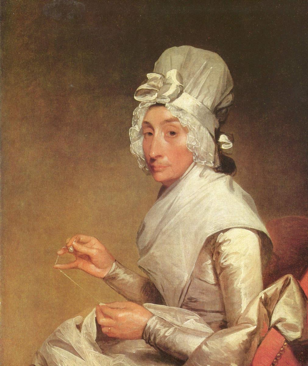 Gilbert Stuart. Portrait of Mrs. Richard Yates