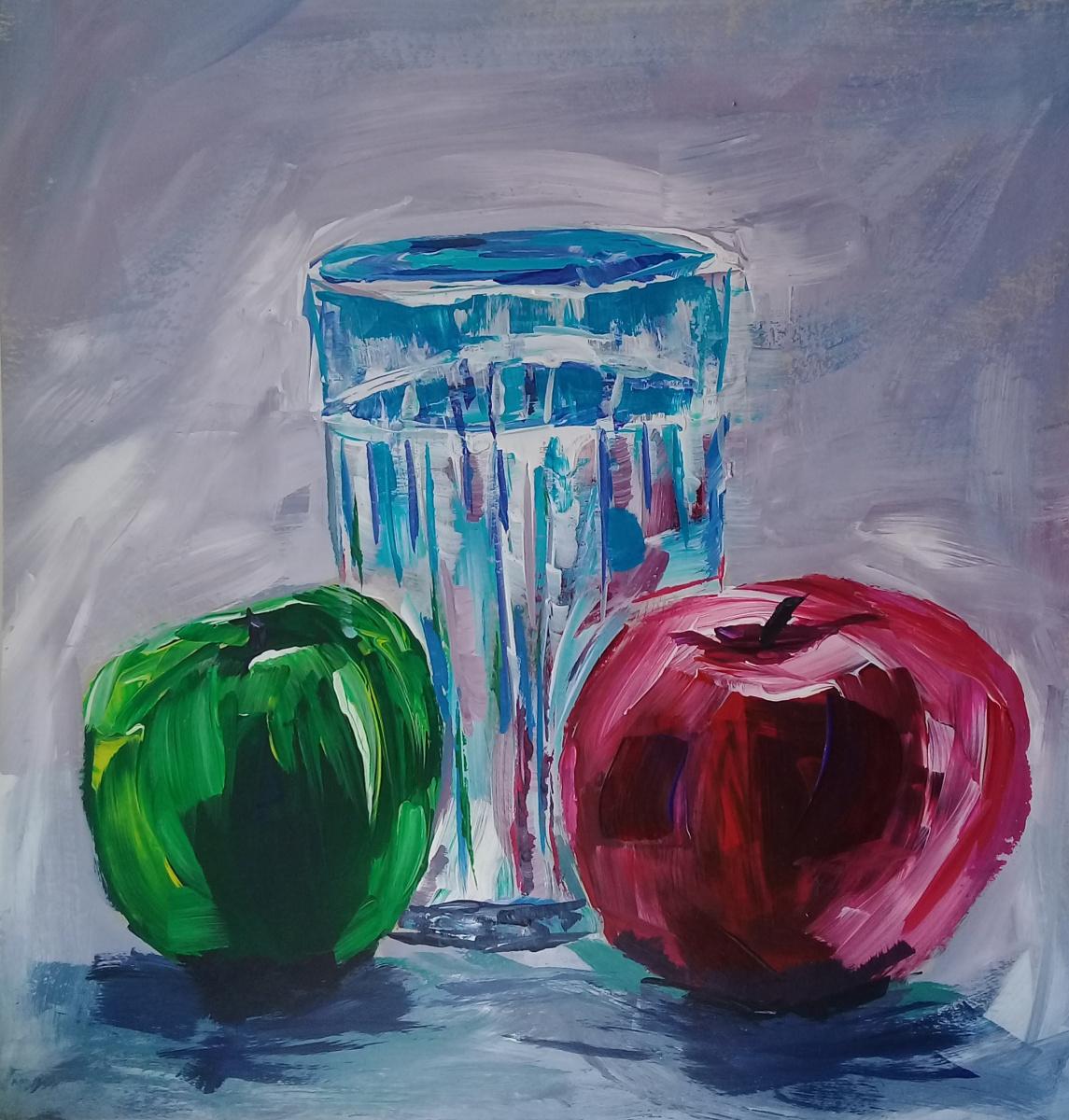 Lika Dymova. Apples