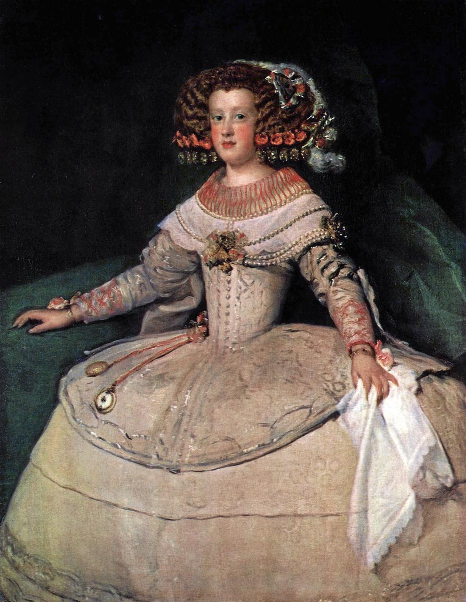 Диего Веласкес. Инфанта Мария Терезия в четырнадцать лет