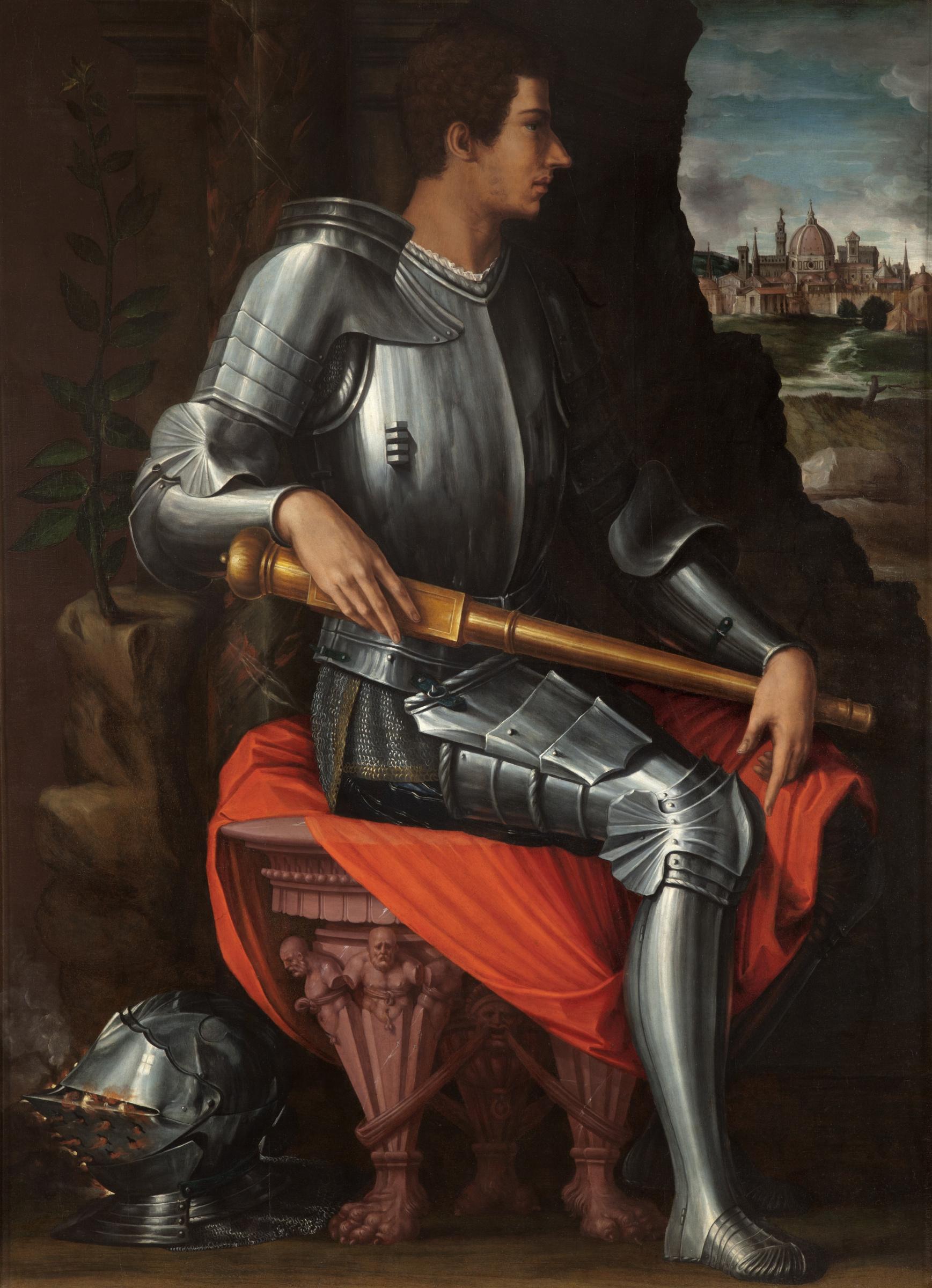 Джорджо Вазари. Портрет герцога Алессандро де Медичи