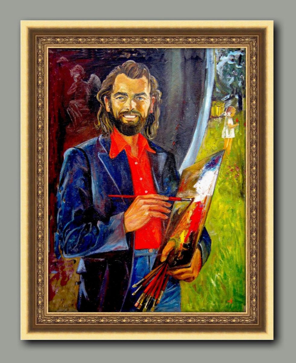 Alexander 3novev. Self portrait