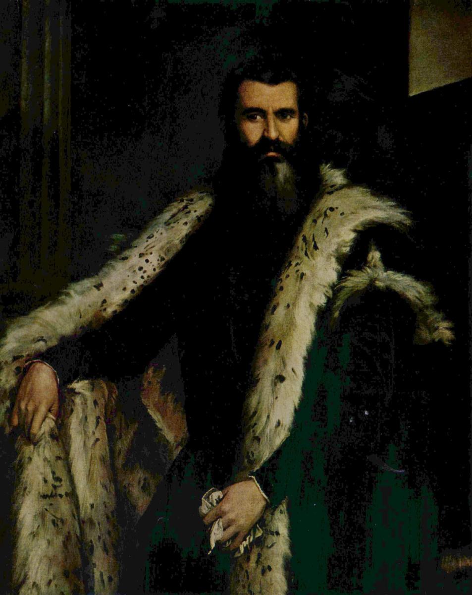 Паоло Веронезе. Портрет Даниеле Барбаро