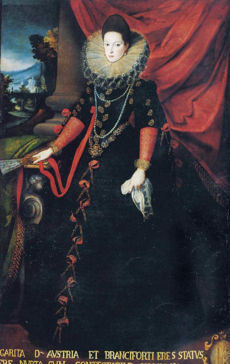 Софонисба Ангвиссола. Портрет донны Джованны Австрийской с веером в руках
