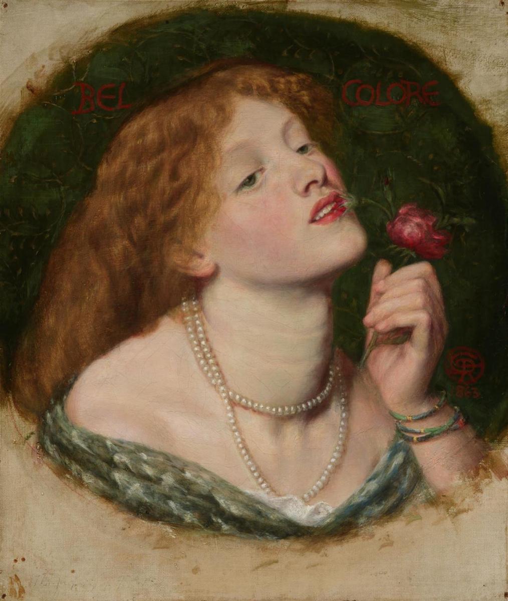 Данте Габриэль Россетти. Прекрасный цветок