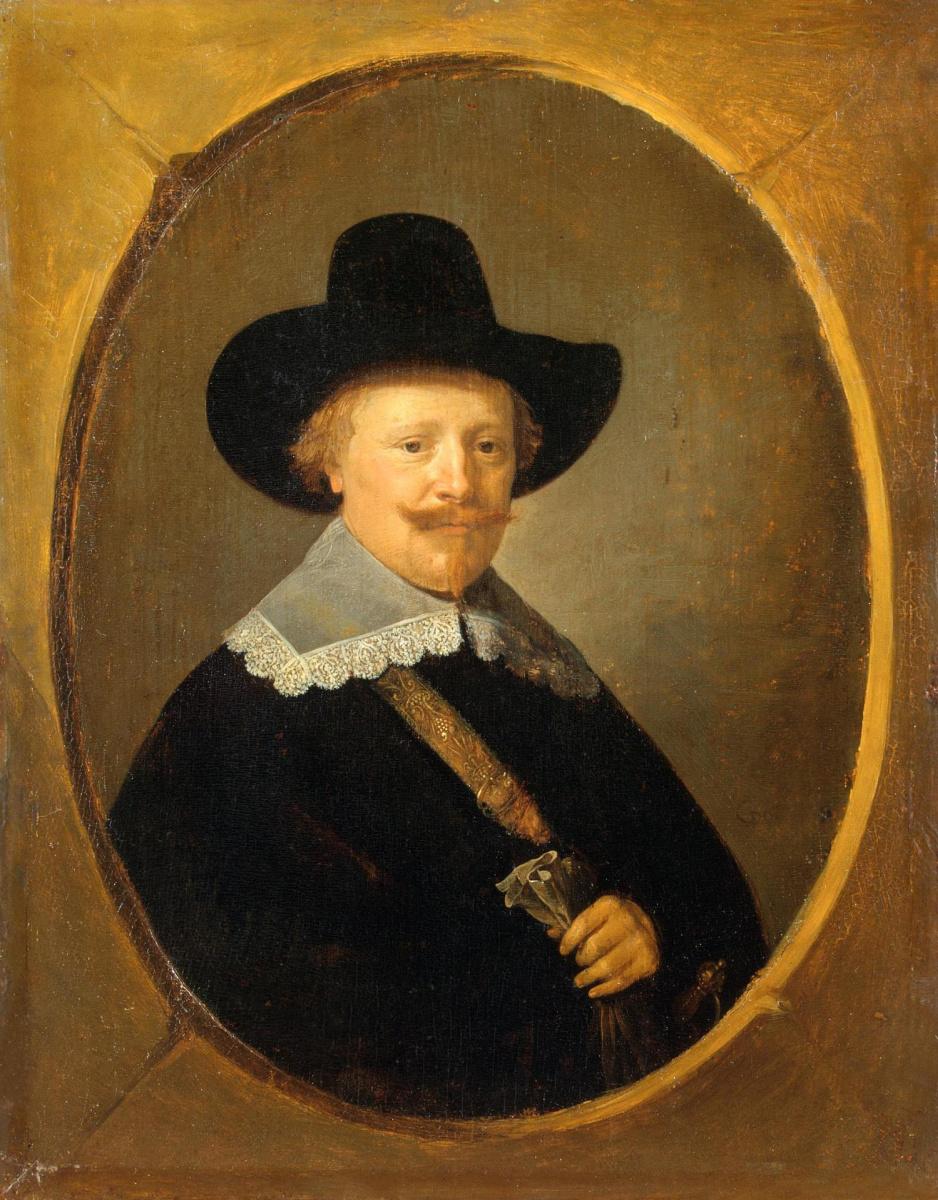 Геррит (Герард) Доу. Мужской портрет