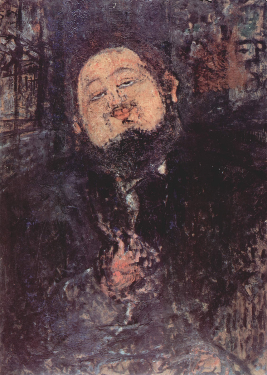 Амедео Модильяни. Портрет Диего Риверы