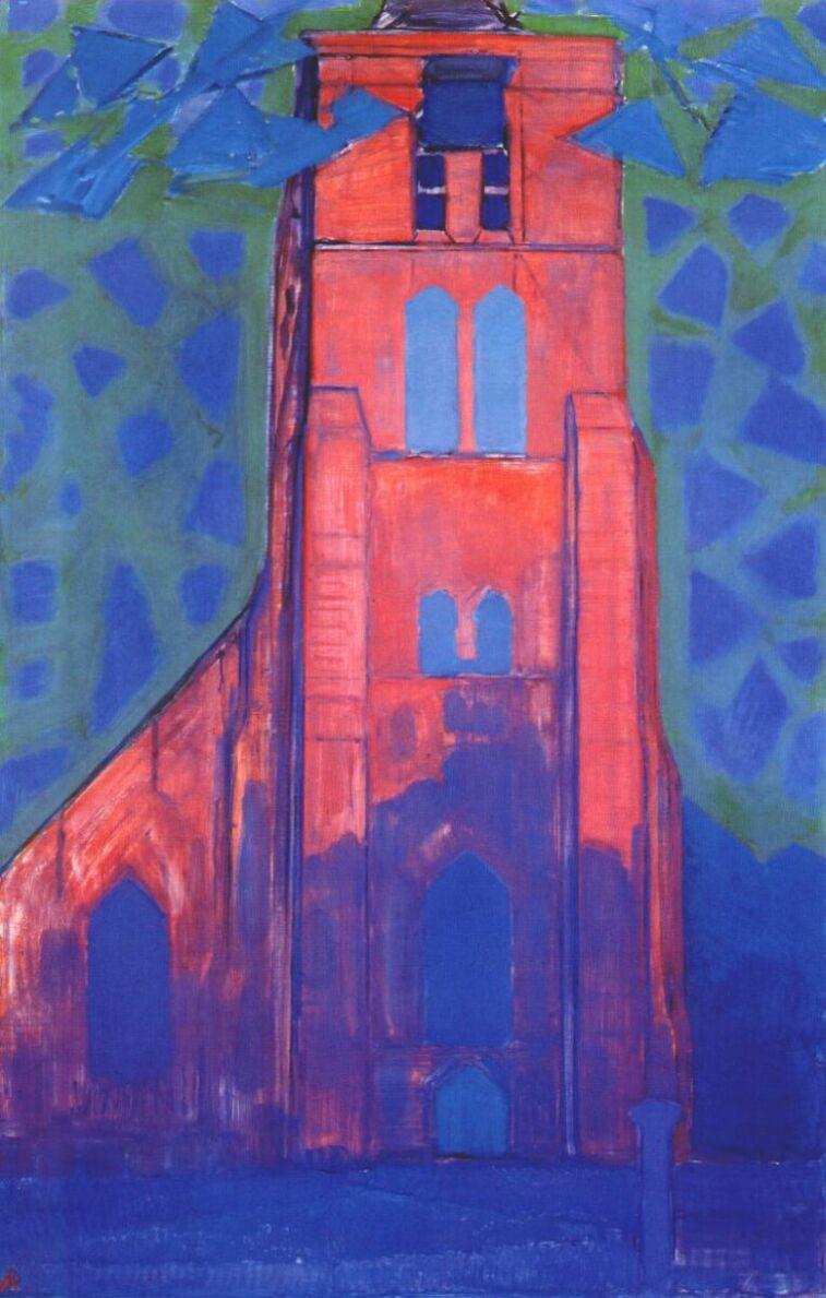 Piet Mondrian. The Church in Domburg