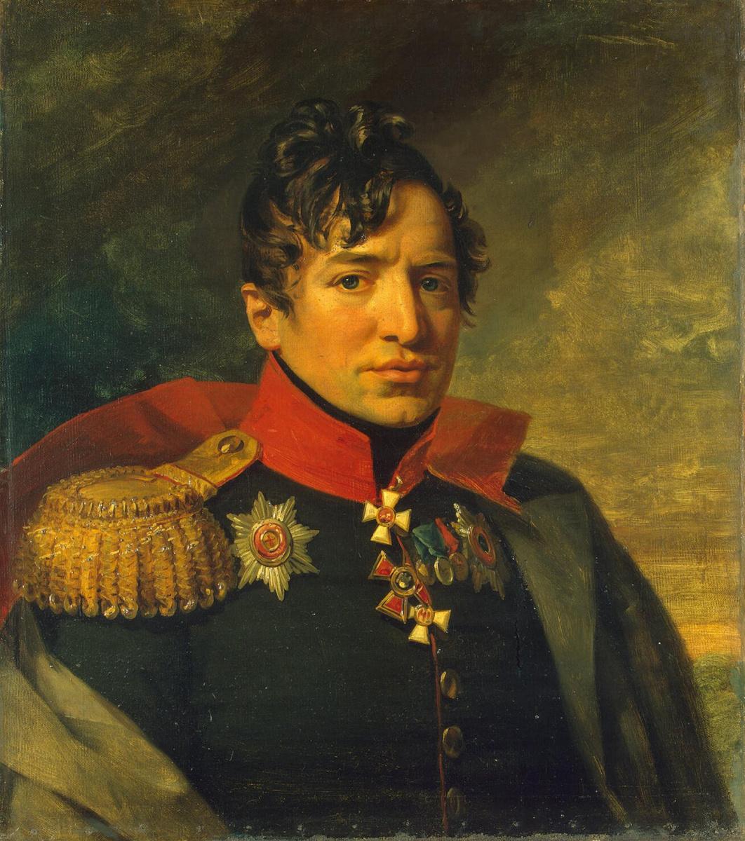 George Dow. Portrait of Peter Andreevich Kikin