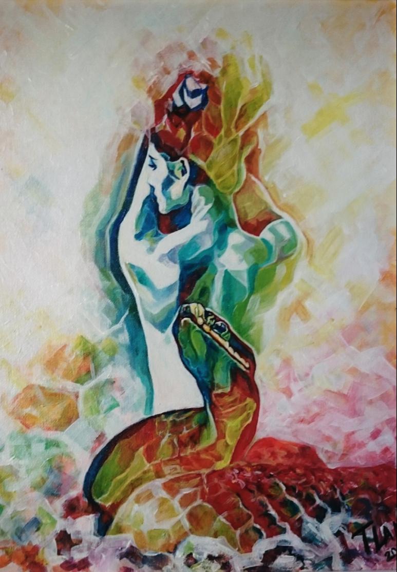 Tatyana Nikolaev. Kundalini painting