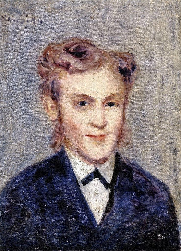 Pierre Auguste Renoir. Concierge Monsieur Paul Berard
