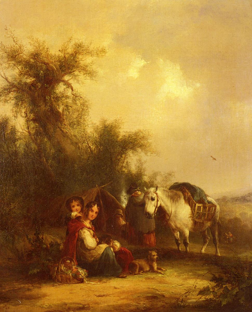 Уильям Шайер. Белая лошадь