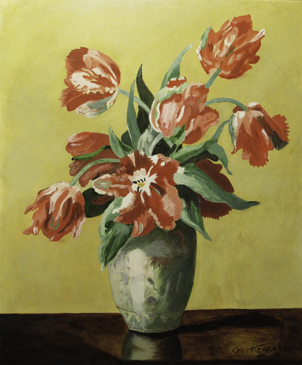 Artashes Badalyan. Kennedy. Tulips - xm - 60x50