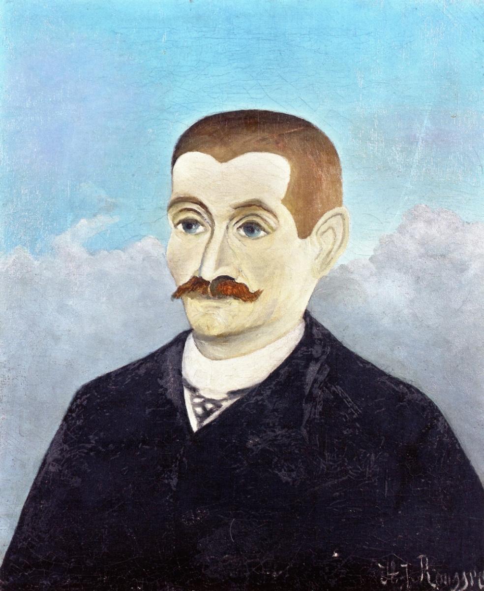 Анри Руссо. Портрет рыжеволосого мужчины